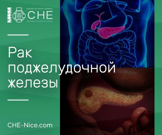 Онкология - Рак поджелудочной железы